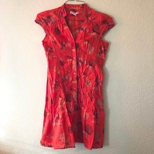 Urban Outfitters Lux Retro Cotton Fruit Mini Dress